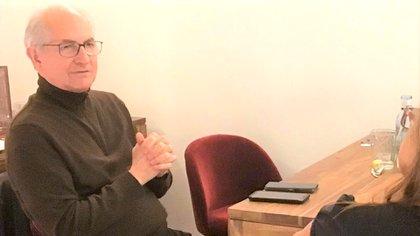 Antonio Ledezma con Infobae