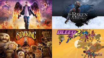 The Raven Remastered, Bleed 2, Saints Row: Gat out of Hell y Stacking serán los gratuitos de Games With Gold en diciembre