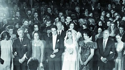 La boda de Paulina López Portillo en la que Luis Miguel cantó ante el presidente.