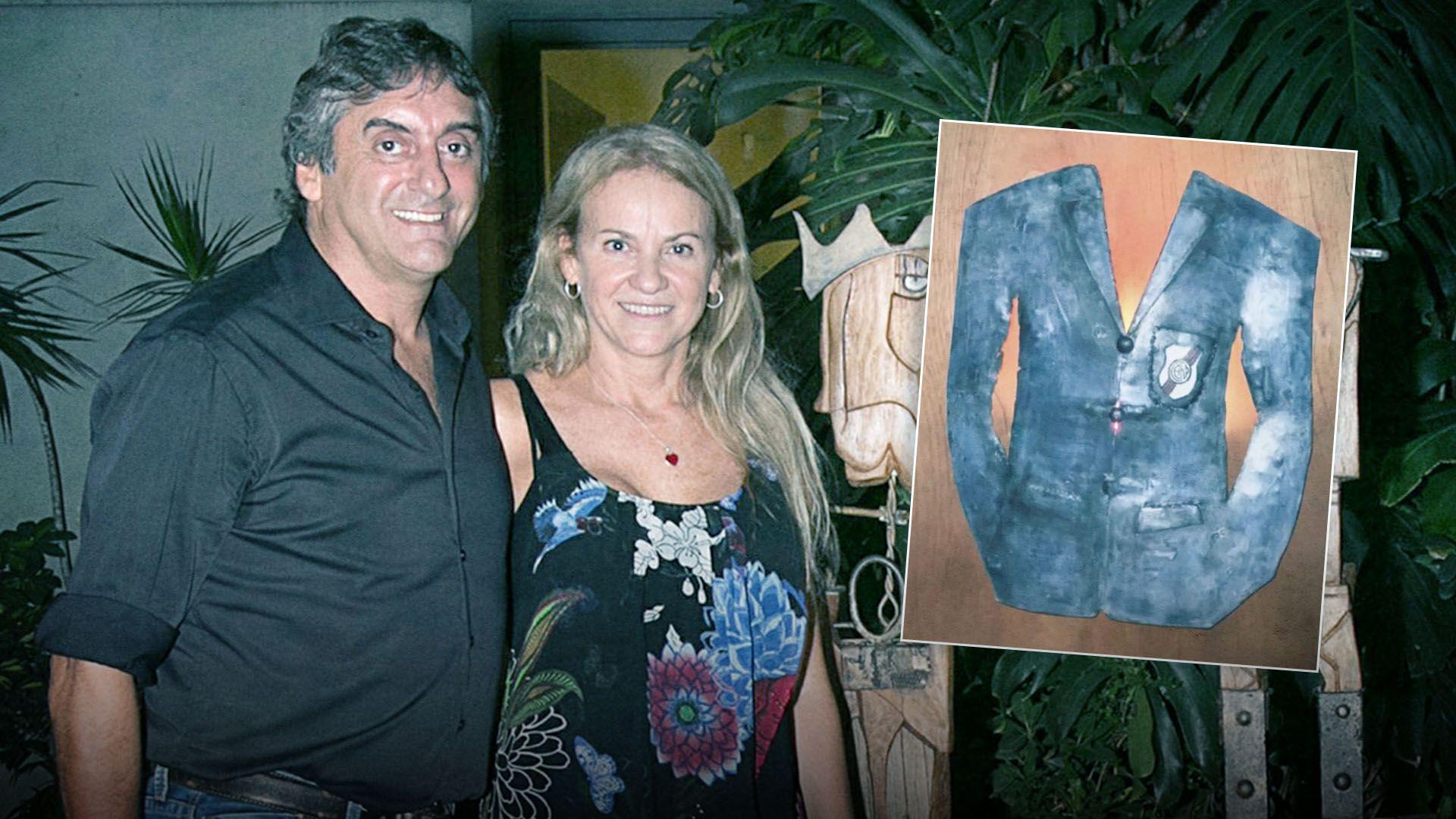 Carmela Blanco Enzo Francescoli portada