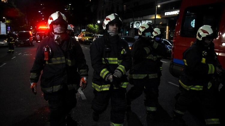 Los operativos continuaban hasta esta noche (Nicolás Stulberg)