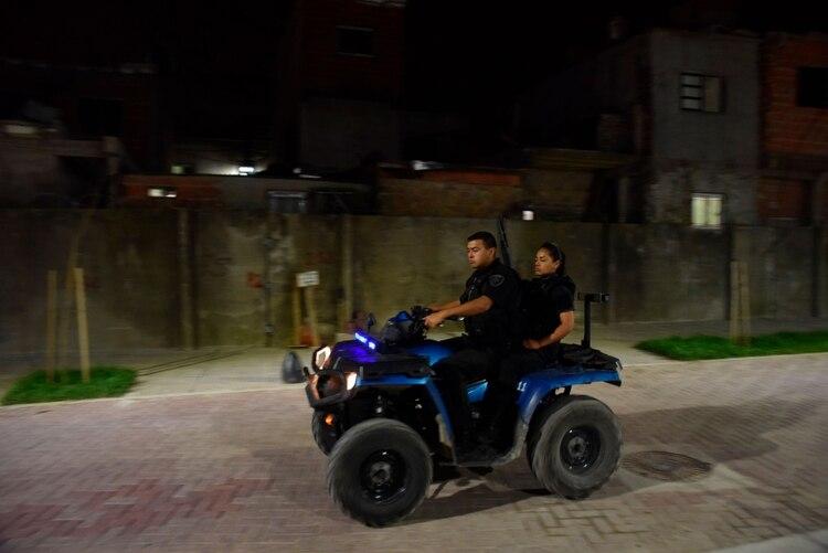 Fuentes cercanas al operativo confirmaron que no hubo detenidos (Franco Fafasuli)