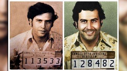 Pablo Escobar en las dos veces que estuvo en la cárcel antes de convertirse en el cabecilla del Cartel de Medellín.