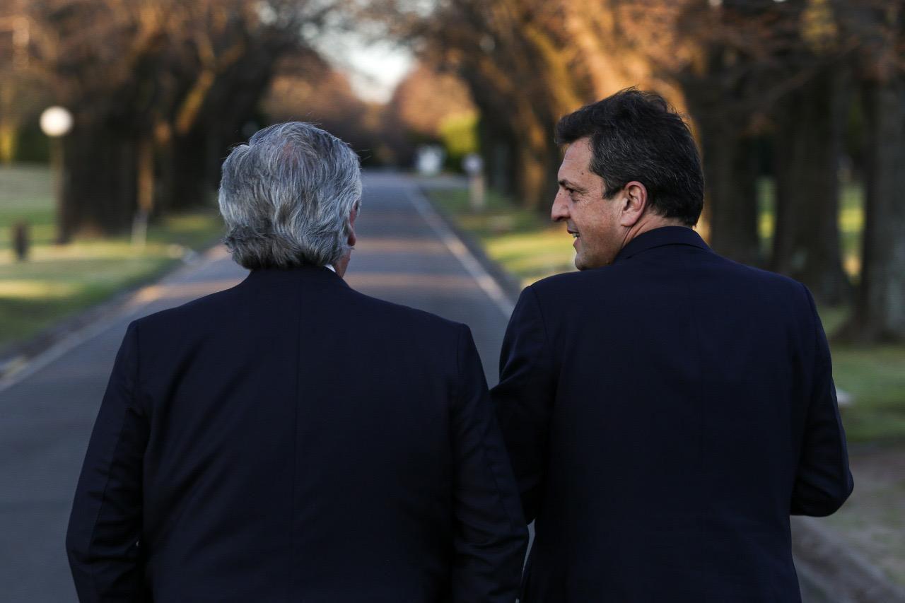 Alberto Fernández Sergio Massa