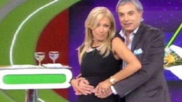 """El """"trencito"""" de Carlos Monti y Susana Roccasalvo"""