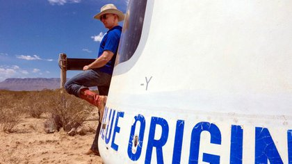 Con su compañía Blue Origin, Jeff Bezosesperallegar al espacio.