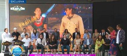 Así fue el evento en el que reconocieron a las personas detrás de Exatlón (Foto: captura de pantalla/tvazteca.com)
