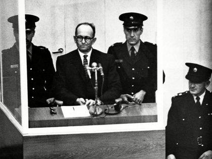 Eichmann durante el juicio que se llevó a cabo en Israel en 1961 (Everett/Shutterstock)