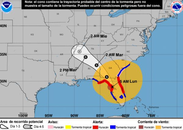 Cómo serán las últimas 48 horas del huracán Irma, el más potente de la historia en el Atlántico