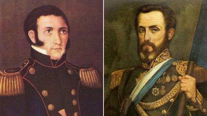 Manuel Dorrego y Juan Lavalle