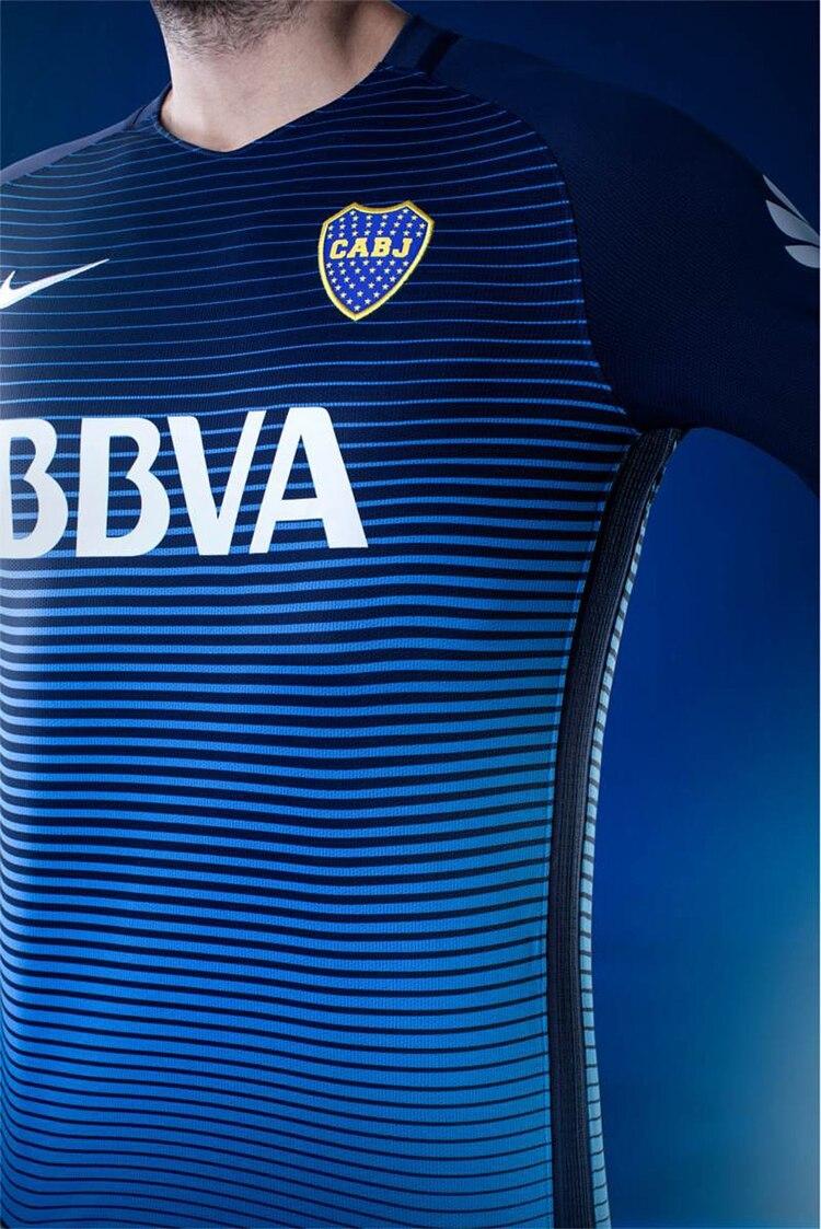 Boca presentó su nueva camiseta para el 2017 - Infobae 1ce0d12f01e16