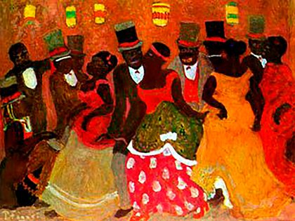 Candombe, de Pedro Figari