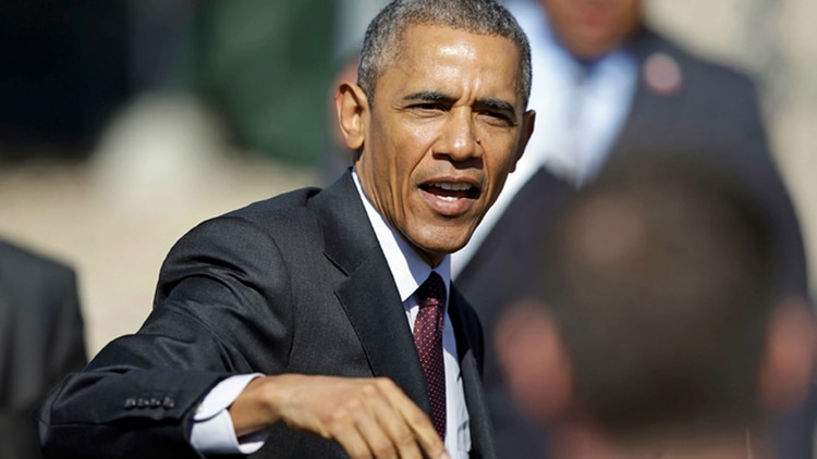 El ex presidente Barack Obama en Utah, el pasado miércoles, al dar una conferencia sobre cómo tomar decisiones difíciles (Foto: AP)