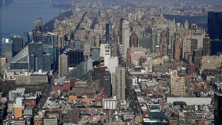Así se ve Nueva York desde la cima de uno de los rascacielos (AFP)
