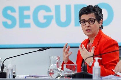 Imagen de archivo de la ministra de Asuntos Exteriores, Arancha González Laya. EFE/ Juan Carlos Hidalgo /Archivo