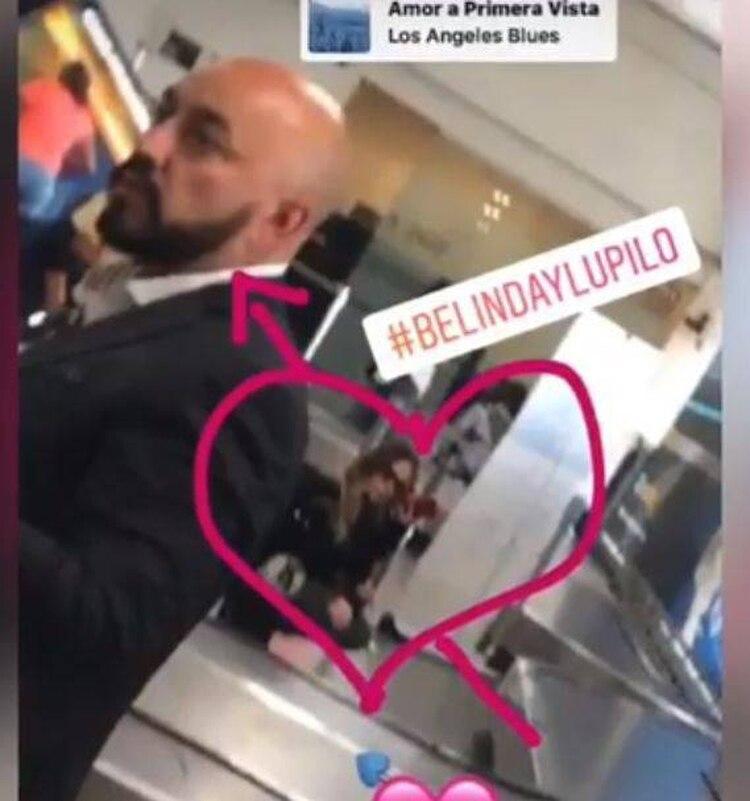 Fueron captados en el aeropuerto de la Ciudad de México (Foto: Instagram)