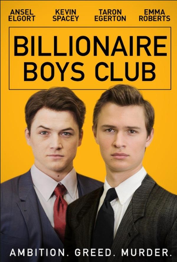 Billionaire Boys Club recaudó 126 dólares en su primer día de estreno