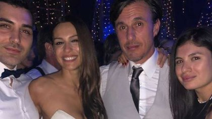 Viviana, en la boda de Pampita y Roberto