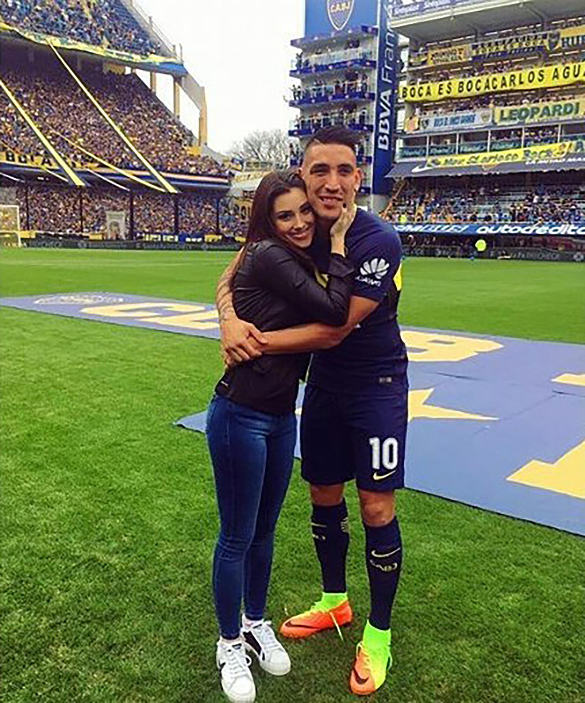 La joven lo acompañó en todos los momentos de su carrera (IG: @fc.melpasini)
