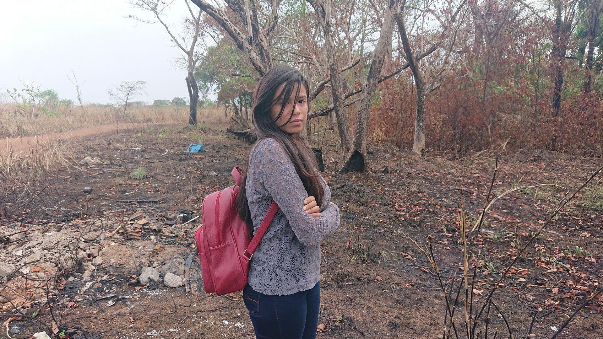 Ana, una joven de 23 años