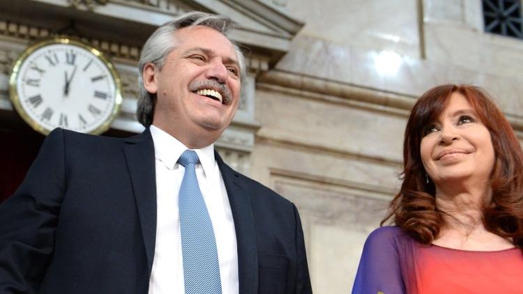 Alberto Fernández y Cristina Kirchner (Presidencia)