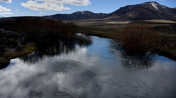Vista del rio Chubut. (Nicolás Stulberg)