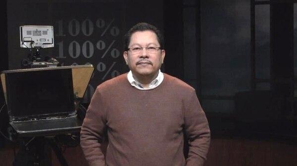 Miguel Mora, presidente ejecutivo de 100% Noticias