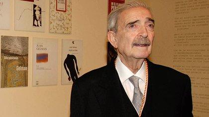 Juan Gelman (TELAM )