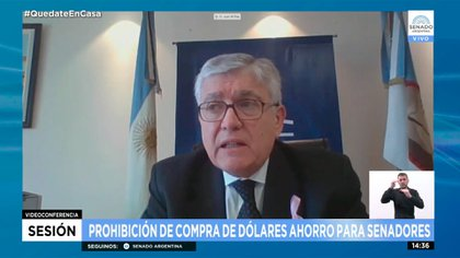 Mario Pais, senador del Frente de Todos