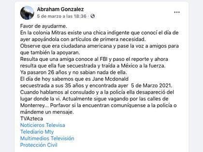 (Fb: Abraham González)