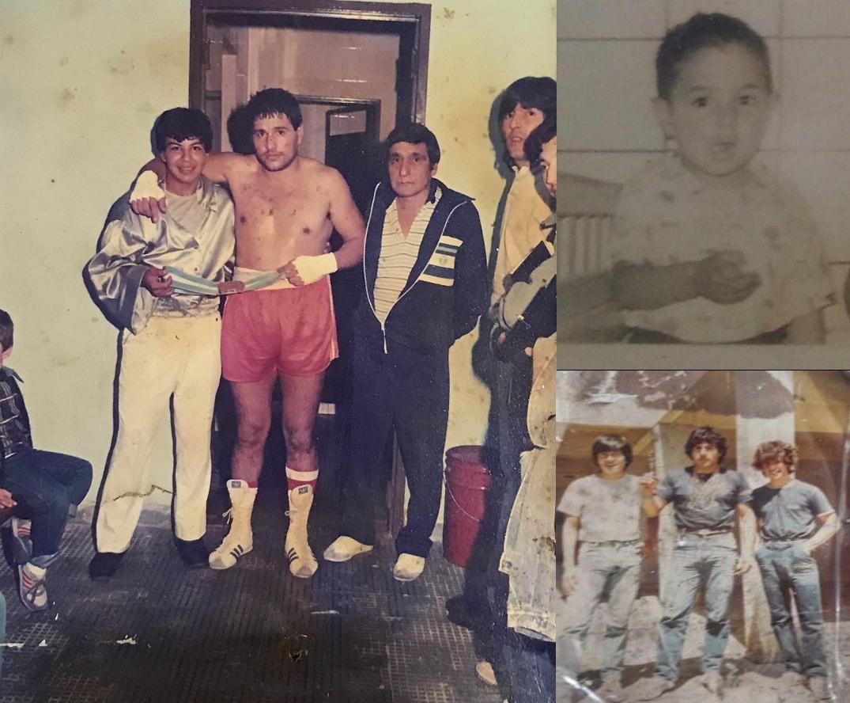 Walter Masseroni niñez