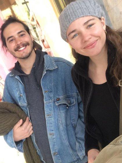 Fini y Nacho viajaron en diciembre de 2018 a Europa, sin pasaje de regreso a la Argentina
