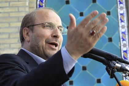 El nuevo Parlamento iraní eligió este jueves en su segunda sesión al exalcalde de Teherán y antiguo comandante de la Guardia Revolucionaria, el conservador Mohamad Baqer Qalibaf, como presidente de la Cámara durante un año. EFE/Abedin Taherkenareh/Archivo