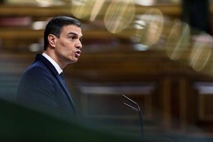 Pedro Sánchez (Alberto di Lolli/Pool via REUTERS)