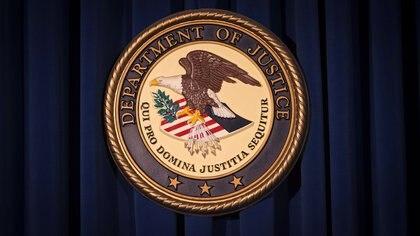 El Departamento de Justicia de los Estados Unidos realizó las acusaciones este lunes (Reuters)