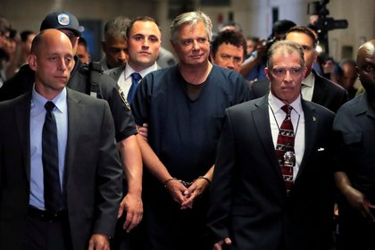 El ex jefe de campaña de Trump, Paul Manafort.  REUTERS/Lucas Jackson/File Photo