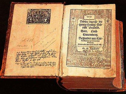 Martín Lutero tradujo la Biblia al alemán para ponerla al alcance de todos los fieles