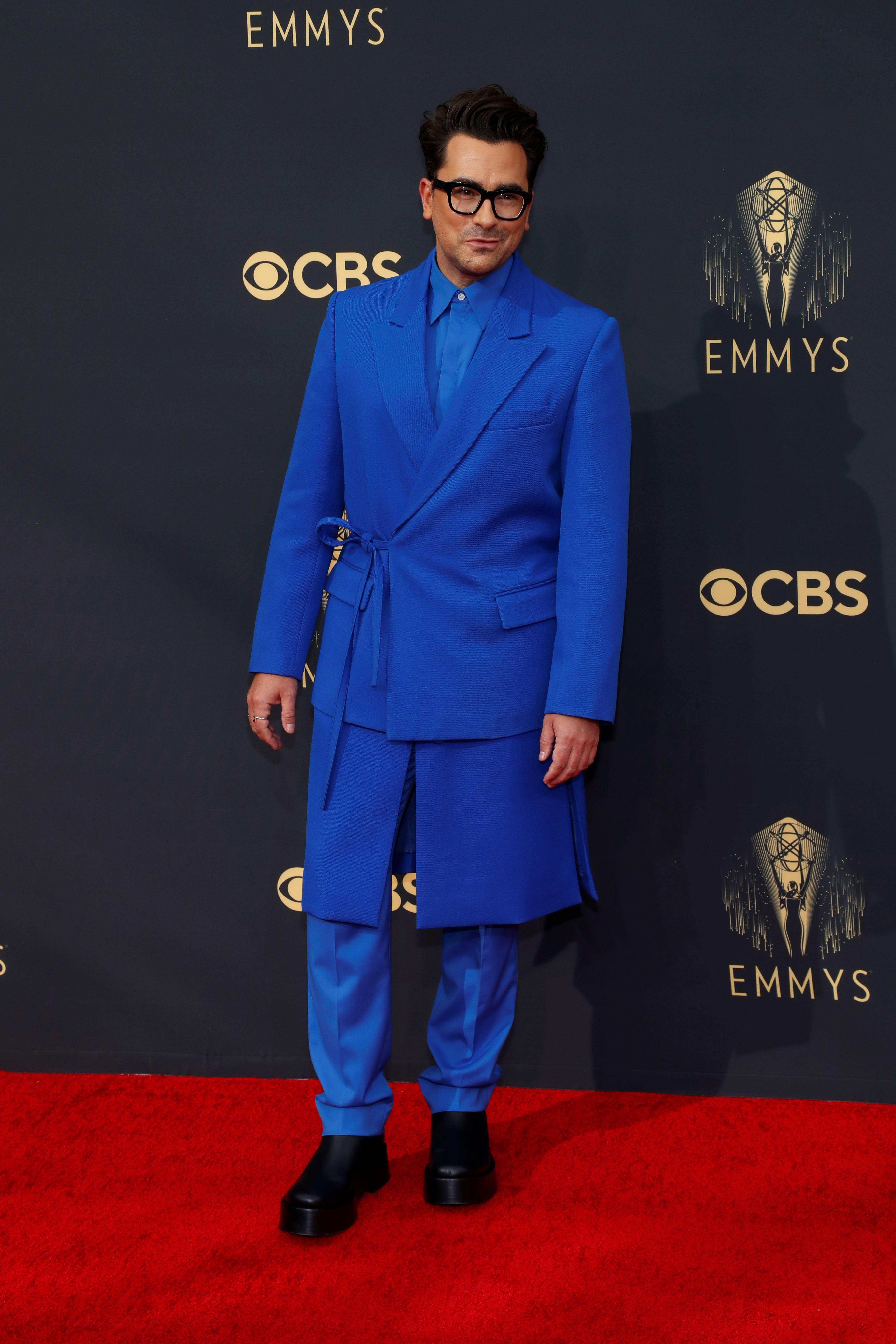 """Dan Levy - Según Profumo, """"¡es excesivo el outfit con el color ! Abruma la vista ! Completamente ridiculizado. Para llevar un outfit así, primeramente tenés que tener la actitud, este no sería el caso"""""""