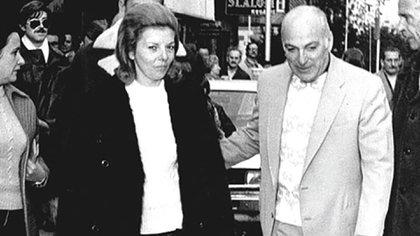 """Isabelita y José López Rega, """"el Brujo"""""""