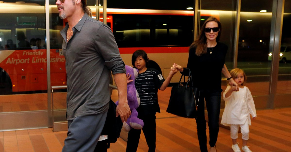 Angelina Jolie scored a victory in the legal battle for the guardianship of her children with Brad Pitt