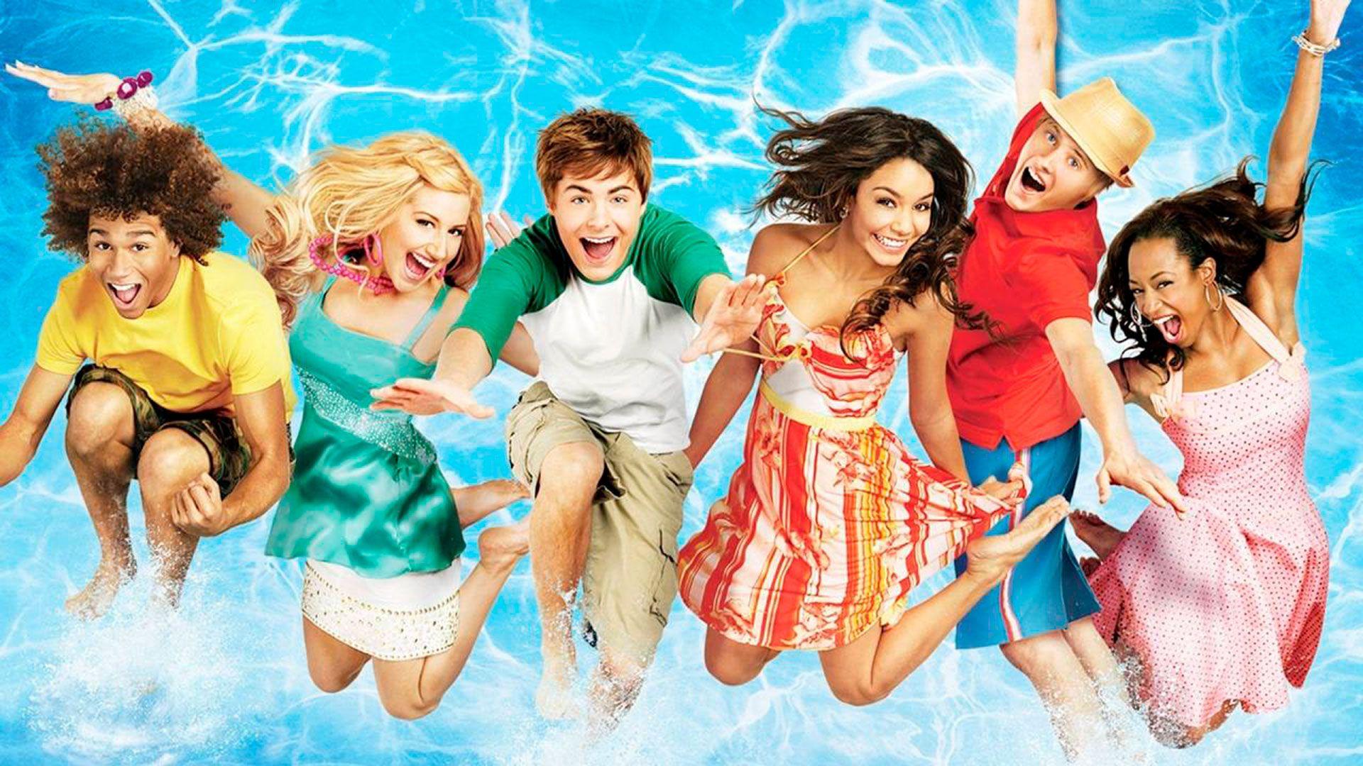 series cortas High school Musical 2