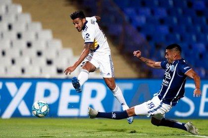 Salvio volvió a marcar nuevamente: lleva 10 goles en 26 partidos jugados (Boca oficial)