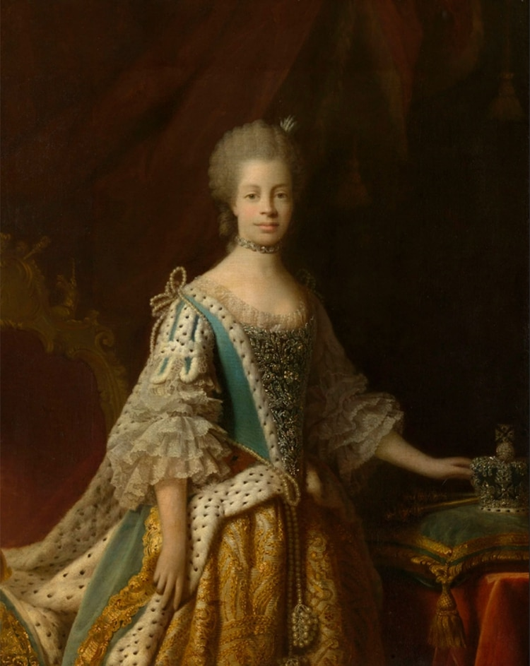 Carlota era descendiente de Madragana Ben Aloandro, amante del rey portugués Alfonso III