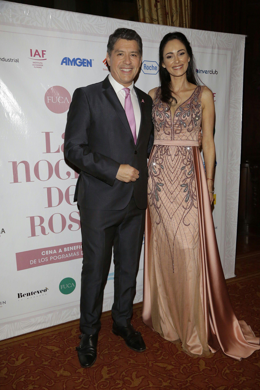 Guillermo Lobo y Gabriela Sobrado, los conductores de la gala