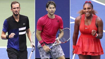 Medvedev, Thiem y Serena Williams ya están en semifinales del US Open