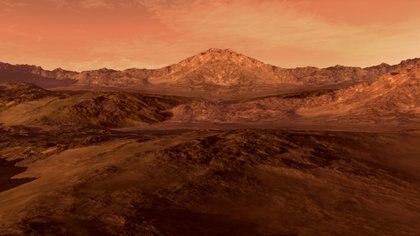 Hace una década, el Módulo de Aterrizaje Phoenix en Marte de la NASA detectó nieve en el planeta rojo (iStock)