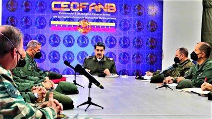 La reunión con los jefes de REDI donde Maduro aseguró que de la guerrilla solo queda restos en Venezuela