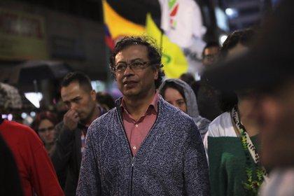 Gustavo Petro, líder de la Colombia Humana. REUTERS/Luisa Gonzalez