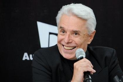 El cantante Enrique Guzmán