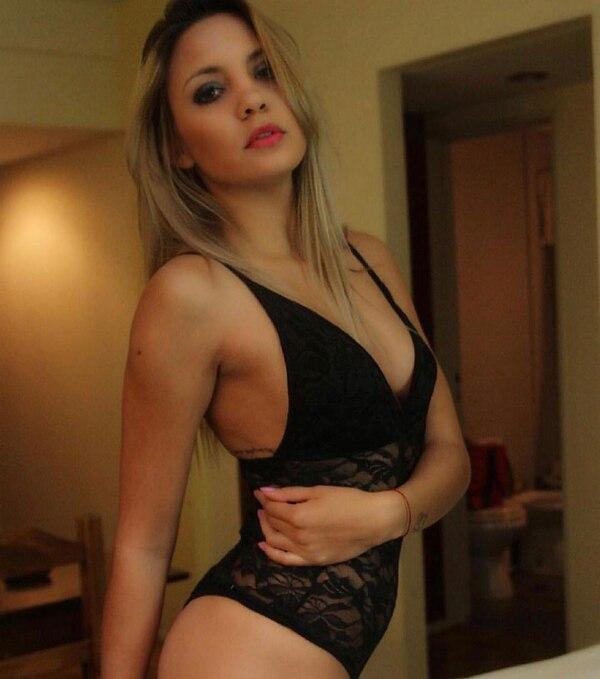 Micaela Romero tiene 18 años y es la novia de Ezequiel Barco, ex jugador de Independiente.